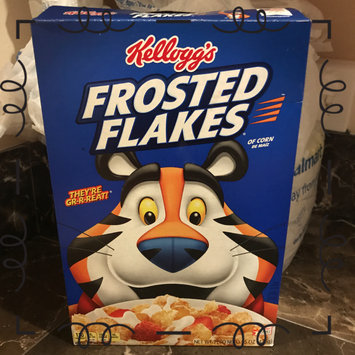 Photo of Kellogg's Frosted Flakes Cereal uploaded by Schyvanda B.