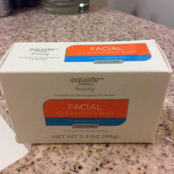 Photo of Equate Beauty Facial Cleansing Bar for Acne Prone Skin, 3.5 oz uploaded by Monina C.