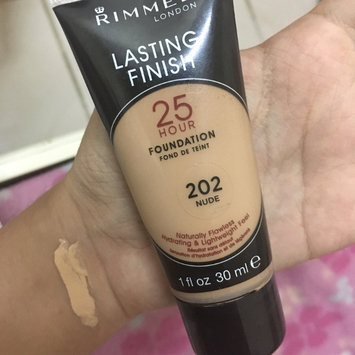 Photo of Rimmel London Lasting Finish Breathable Foundation uploaded by Jessica M.