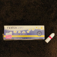 Natracare - Regular, Super and Super Plus Cotton Tampons - Applicator Free - Bundle of 3 Sizes uploaded by Brittany A.