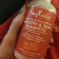 SheaMoisture Argan Oil & Almond Milk Smooth & Tame Shampoo uploaded by Olympia M.