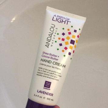 Photo of Andalou Naturals Hand Cream uploaded by Brittany A.