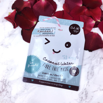 Photo of Oh K! Coconut Water Fibre Face Mask uploaded by Beth W.