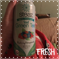 Steaz Iced Green Tea Organic Blueberry Pomegranate uploaded by Amber b.