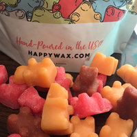 Happy Wax Savory Mix Soy Wax Melts - Large (8 oz) Pouch - Over 200 Hours Burn Time - Cute Bear Shapes! uploaded by Cindy T.