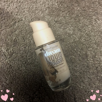Photo of Maybelline Dream Liquid® Mousse Foundation uploaded by cassie r.