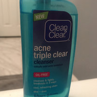 Clean & Clear® Acne Triple Clear™ Cleanser uploaded by Alexxandria H.