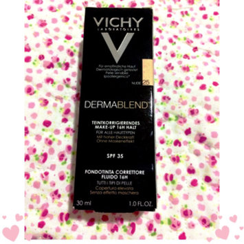 Photo of Vichy Dermablend Fluid Corrective Foundation Nude 25 uploaded by Mari C.