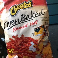 Cheetos® Flamin' Hot Puffs FLAMIN'  Cheese Flavored Snacks uploaded by Raquel C.