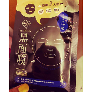 Photo of My Scheming Black Pearl Brightening Silk Facial Mask (10ct) uploaded by SUKI L.