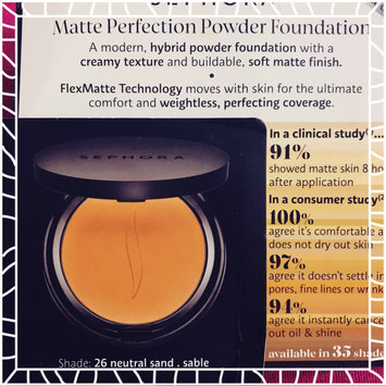 Photo of SEPHORA COLLECTION Matte Perfection Powder Foundation uploaded by Andrea C.