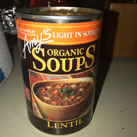 Amy's Kitchen Organic Lentil Soup, Light In Sodium uploaded by Alexxandria H.