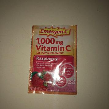 Photo of Emergen-C 1,000 mg Vitamin C Raspberry uploaded by Alexxandria H.