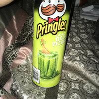Pringles® Xtra Screamin' Dill Pickle Potato Crisps uploaded by Rockea J.