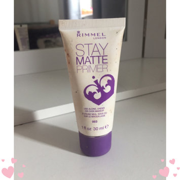 Photo of Rimmel London Stay Matte Primer uploaded by Holly J.