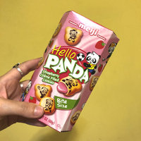 MEIJI Hello Panda Biscuit with Strawberry Cream Filling uploaded by Jenna D.