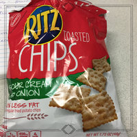 Nabisco RITZ Sour Cream & Onion Toasted Chips uploaded by Jessica S.