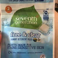 Seventh Generation Free & Clear Laundry Detergent Packs uploaded by Melanie H.