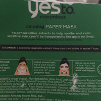 Yes To Cucumbers Calming Paper Mask uploaded by Trudy L.