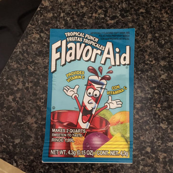 Photo of Flavor Aid Tropical Punch Drink Mix Packet (.15 oz.) uploaded by Chakirah K.