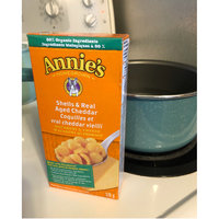 Annie's® Homegrown Organic Shells & Real Aged Cheddar Macaroni & Cheese uploaded by Delaney B.