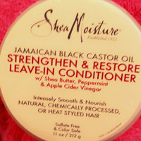 SheaMoisture Jamaican Black Castor Oil Reparative Leave-In Conditioner uploaded by Bianca H.
