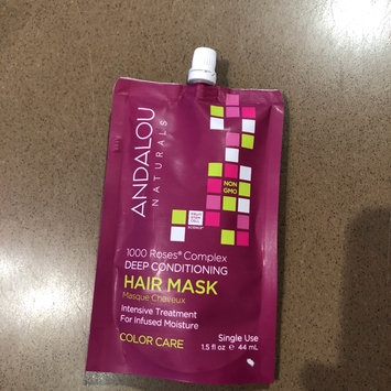 Photo of 1000 Roses Complex Color Care Deep Conditioning Hair Mask Andalou Naturals 1.5 oz Cream uploaded by Anna L.