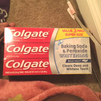 Colgate® Baking Soda & Peroxide WHITENING Toothpaste Brisk Mint uploaded by member-618f1