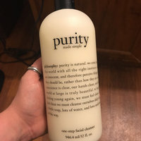 philosophy purity made simple one-step facial cleanser uploaded by Chelsey B.