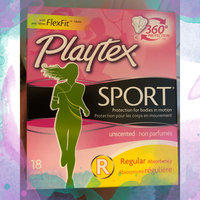 Playtex Sport Tampons Plastic Applicator uploaded by CAROLINA W.