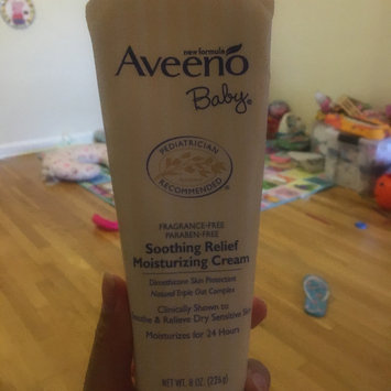 Photo of Aveeno® Baby Soothing Relief Moisture Cream uploaded by Gladys R.