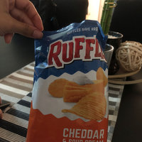 Ruffles® Potato Chips Cheddar & Sour Cream uploaded by Andrea R.