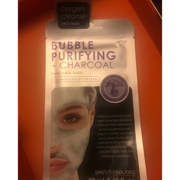Photo of Skin Republic Bubble Purifying + Charcoal Face Mask uploaded by Karyn C.