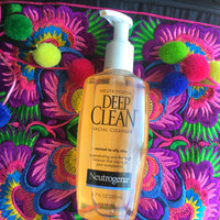 Neutrogena® Deep Clean® Facial Cleanser uploaded by Andrea M.