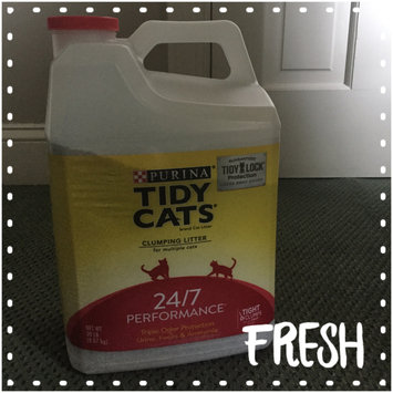 Photo of Tidy Cats Scoop 24/7 Performance Cat Litter uploaded by Amber U.