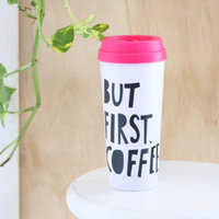 Bando Ban.do 40735 Hot Stuff Thermal Mug, But First Coffee [1, Casual] uploaded by Anabell C.