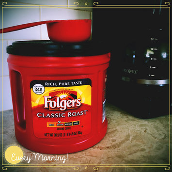 Photo of Folgers Coffee Classic Roast uploaded by Domonique S.