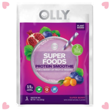 Photo of OLLY Super Foods Smoothie uploaded by Sarah C.