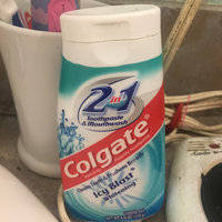 Colgate® 2in1 Toothpaste & Mouthwash Oxygen Whitening Fluoride Toothpaste Cool Mint uploaded by Kayla J.