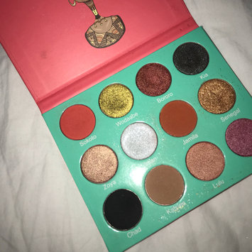 Photo of Juvias Place The Saharan Eyeshadow Palette uploaded by E L.