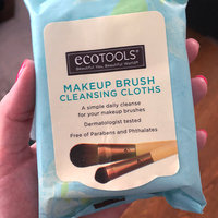 ECOTOOLS MAKEUP BRUSH CLEANSING CLOTHS uploaded by Courtney T.