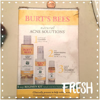 Burt's Bees Natural Acne Solutions 3 Step Regimen Kit uploaded by Char D.