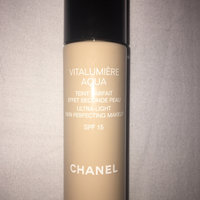 Chanel Vitalumiere Aqua Ultra-Light Skin Perfecting Sunscreen Makeup SPF 15 uploaded by scarlet s.