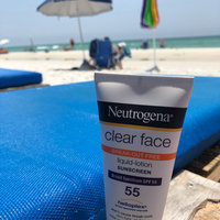 Neutrogena® Clear Face Break-Out Free Liquid Lotion Sunscreen Broad Spectrum SPF 55 uploaded by Maggie O.