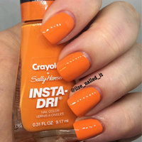 Sally Hansen® Insta-Dri® + Crayola Nail Polish uploaded by Ilze D.