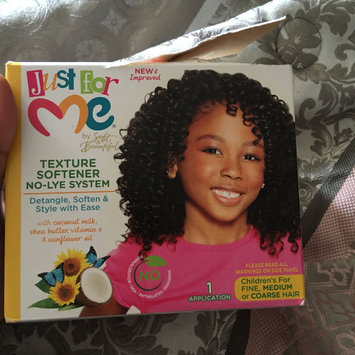 Photo of Just For Me Hair Texture Softener 8 oz. uploaded by Rockea J.