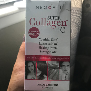 Photo uploaded to NeoCell - Super Collagen+C, Type 1&3, 90 Tablets by Priscilla M.