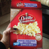 Orville Redenbacher's Gourmet Microwavable Popcorn Movie Theater Butter uploaded by Ellenyar B.