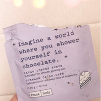 Frank Body Cacao Coffee Scrub uploaded by Giselle P.