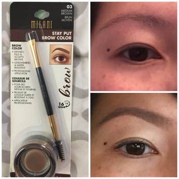 Photo of Milani Stay Put Brow Color uploaded by Jennifer S.